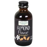 Frontier Herb Almond Flavor (1x2 Oz)