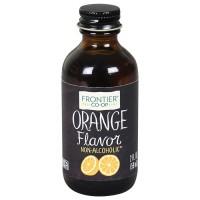 Frontier Herb Orange Flavor (1x2 Oz)