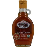 Shady Maple Farms Grade a Dark Maple Syrup Glass (12x12.7 Oz)