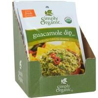 Simply Organic Guacamole Dip (12x.8 Oz)