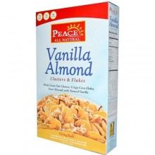 Peace Cereals Vanilla Almond Crisp Cereal (12x11 Oz)