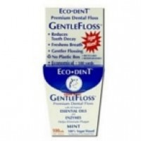 Eco-Dent Gentle Floss Dental Floss (6x100 YD)