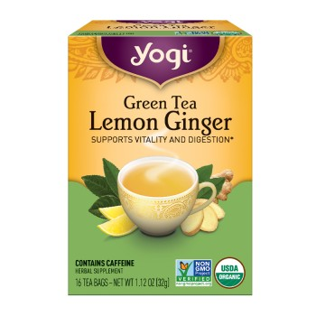 Yogi Lemon Ginger Tea (6x16 Bag)