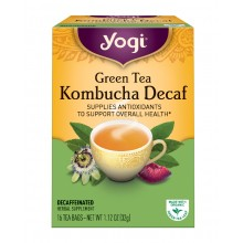 Yogi Green Kombucha Decaf Tea (6x16 Bag)