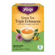 Yogi Green Triple Echinacea Tea (6x16 Bag)