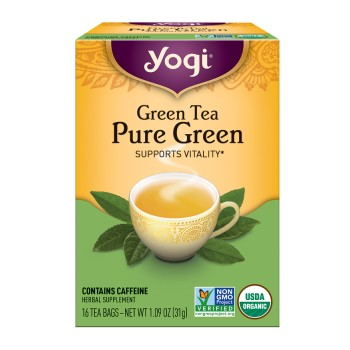 Yogi Simply Green Tea (6x16 Bag)