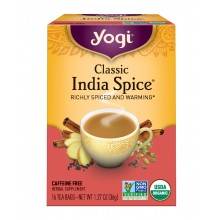 Yogi Classic India Spice Tea (6x16 Bag)
