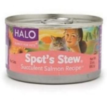 Halo Cat Salmon Spots Stew (12x5.5 Oz)