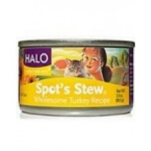 Halo Cat Turkey Spots Stew (12x3 Oz)
