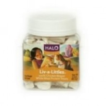 Halo Liv-A-Little Chicken Treat (12x2.2 Oz)