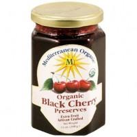 Mediterranean Organics Black Cherry Preserves (12x13 Oz)