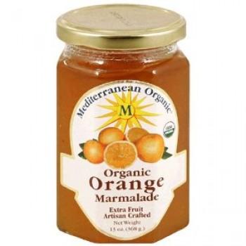 Mediterranean Organics Orange Marmalade (12x13 Oz)