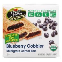 Health Valley Blueberry Cobbler Cereal Bar (6x7.9 Oz)