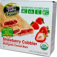 Health Valley Strawberry Cobbler Cereal Bar (6x7.9 Oz)