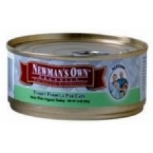 Newman's Own Chicken & Rice Cat Food Can (24x5.5 Oz)