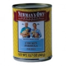 Newman's Own Chicken Dog Food Can (12x12.7 Oz)