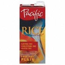 Pacific Natural Plain Low Fat Rice Drink (12x32 Oz)