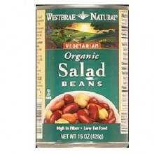 Westbrae Foods Salad Beans Low Fat (12x15 Oz)
