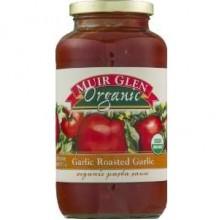 Muir Glen Fat-Free Rsted Garlic Pasta Sauce (12x25.5 Oz)