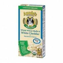 Annie's Whole Wheat Shells & Cheddar (12x6 Oz)