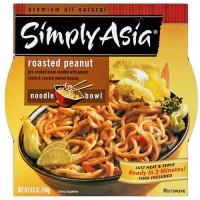 Simply Asia Roasted Peanut Noodle Bowl (6x8.5 Oz)