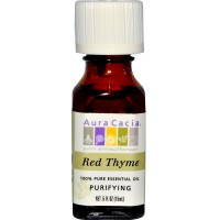 Aura Cacia Red Thyme Essential Oil (1x0.5Oz)