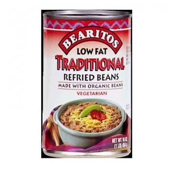 Little Bear Pinto Refried Beans Low Fat (12x16 Oz)