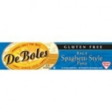 DeBoles Rice Spaghetti Gluten Free (12x8 Oz)