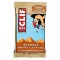 Clif Bar Crunch Peanut Butter Clif Bar Bar (12x2.4 Oz)