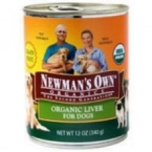 Newman's Own Liver Dog Food Can (12x12 Oz)