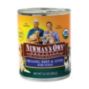 Newman's Own Beef &Liver Dog Food Can (12x12 Oz)