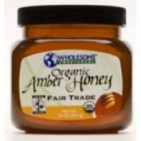 Wholesome Sweetners Amber Honeysqueeze Bottle ( 6x16 Oz)