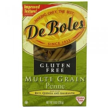DeBoles Multi Grain Penne Gluten Free (12x8 Oz)