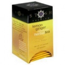 Stash Tea Lemon Ginger Tea (6x20 CT)