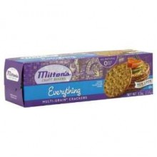 Milton's Everything Gourmet Round Crackers Multigrain (12x8.3 Oz)