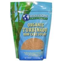 Wholesome Sweetners Turbinado Raw Sugar ( 12x1.5 LB)