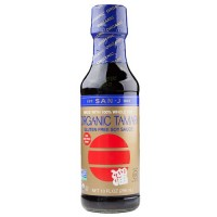 San-J Org Tamari Whole Soy Wheat Free Red Salt (6x20 Oz)
