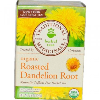 Traditional Medicinals Roasted Dandelion Root Tea (6x16 Bag)