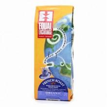 Equal Exchange French Roast Whole Bean Coffee (6x10 Oz)