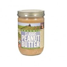 Woodstock Org Classic Smooth Peanut Butter (12x16 Oz)
