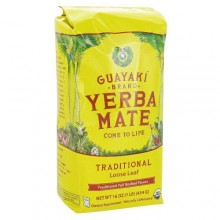 Guayaki Traditional Mate Loose Tea (6x16 Oz)