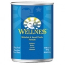 Wellness Fish & Sweet Potato Canned Dog Food (12x12.5 Oz)