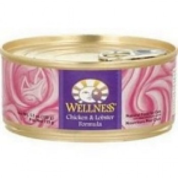 Wellness Canned Chicken Lobster Cat Food (24x5.5 Oz)