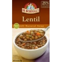 Dr. McDougall's Lentil Ready to Serve Soup Bpa Fr (6x18.2 Oz)