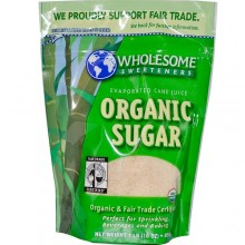 Wholesome Sweeteners Cane Sugar (1x25lb)