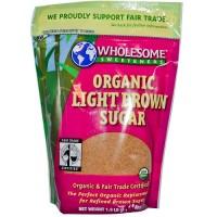 Wholesome Sweetners Light Brown Sugar ( 6x24 Oz)