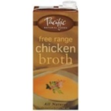 Pacific Natural Natural Chicken Broth (12x32 Oz)