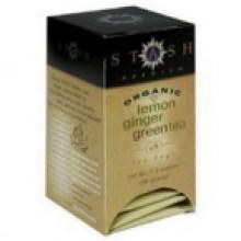 Stash Tea Green Lemon Ginger Tea (6x18 CT)