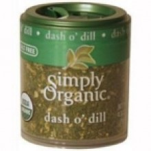 Simply Organic Mini Dill Weed (6x.14 Oz)