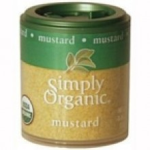 Simply Organic Mini Ground Mustard Seed (6x.46 Oz)
